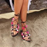 greek-decorated-lace-up-handmade-black-leather-sandal-with-pom-pom-poros-0